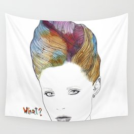 What? Wall Tapestry