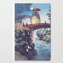 My neighbour Toto vintage japanese mashup Cutting Board