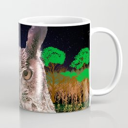 The Owlbserver In The Forest Coffee Mug