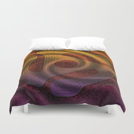 Let The Music Play Duvet Cover