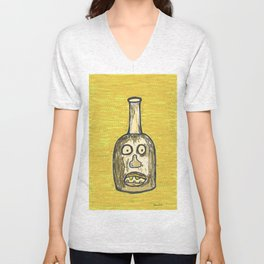 Face Jug Unisex V-Neck