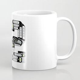Seattle 12th Man - Black Coffee Mug