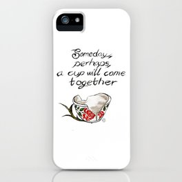 Hannibal cup iPhone Case