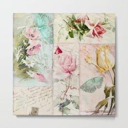 Belles Fleurs II Metal Print