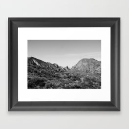 Big Bend,Texas Framed Art Print