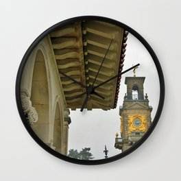 South Terrace and clock tower  Wall Clock