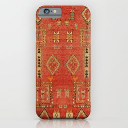 Moroccan Traditional Heritage Design Berber Style E5 iPhone Case