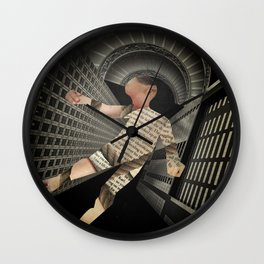 Kafka's Amerika Wall Clock