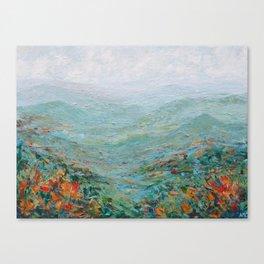 Blue Ridge October Canvas Print