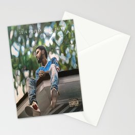 J.Cole 2014 Forest Hills Drive Drawing Stationery Cards
