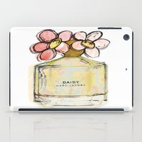 marc johns iPad Cases featuring Daisy - Marc Jacob's Perfume Illustrated by Amy frances Illustration