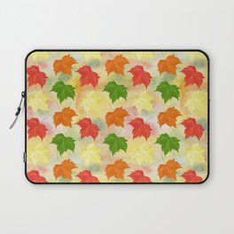 watercolor autumn leaves Laptop Sleeve