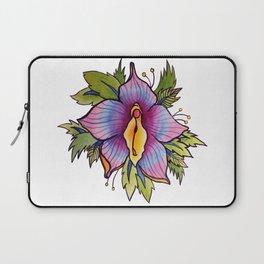 Vulva Flora Laptop Sleeve