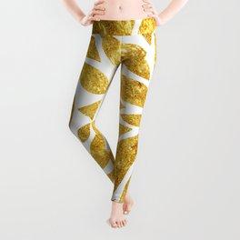 Golden Bloom Leggings