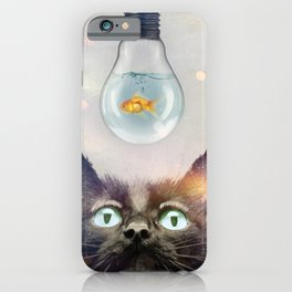 Cat Fish iPhone Case