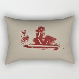Roadkill Rectangular Pillow