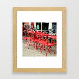 Not Quite Lunchtime Framed Art Print