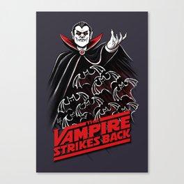 The Vampire Strikes Back V1 Canvas Print
