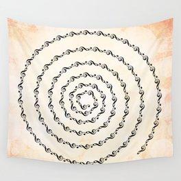 Watercolor sol key swirl Wall Tapestry