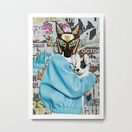 Anubis X Metal Print