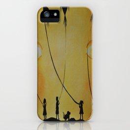 Papalotes (kites) iPhone Case