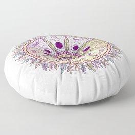 Wheel of the Year Floor Pillow