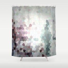 Hex Dust 3 Shower Curtain