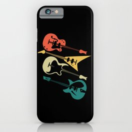 Retro Electric Guitar Instrument Gift Music Guitar iPhone Case