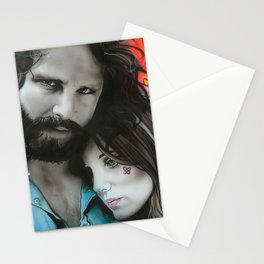 'Mr. Mojo Risin' And Pam' Stationery Cards