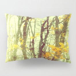 Woodland Abstract Pillow Sham