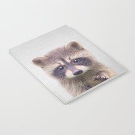 Raccoon - Colorful Notebook