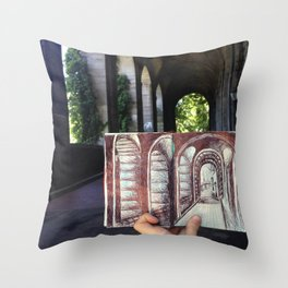 Arch-enemy  Throw Pillow