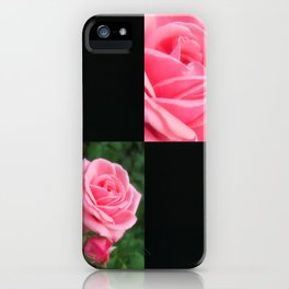 Pink Roses in Anzures 2 Blank Q2F0 iPhone Case