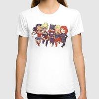 superheros T-shirts featuring Super BFFs by Dooomcat
