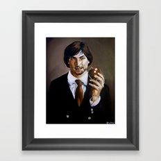 We'll Miss You, Steve.  Framed Art Print