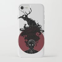 hannibal iPhone & iPod Cases featuring Hannibal by Sutexii