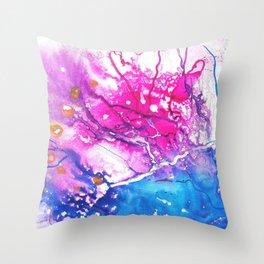 Galaxy Throw Pillow