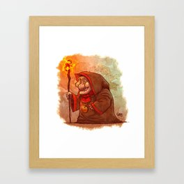 Mage Lady Framed Art Print