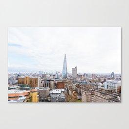 City Skyline View of the Shard, London Canvas Print