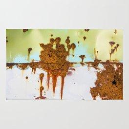 Rusting Panels Rug