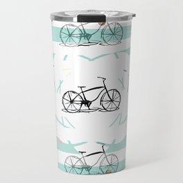 Bicycle pattern B1 Travel Mug