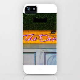 The Den iPhone Case