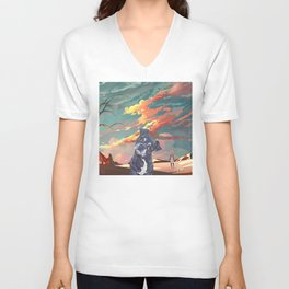 Delirium of the Endless Unisex V-Neck