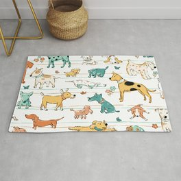 Dogs Dogs Dogs Rug