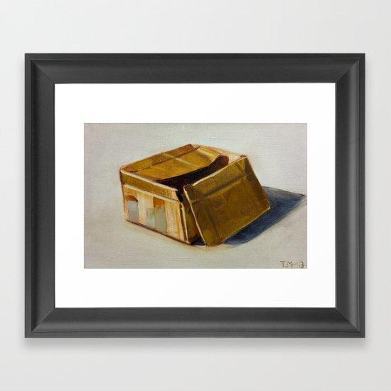 box Framed Art Print