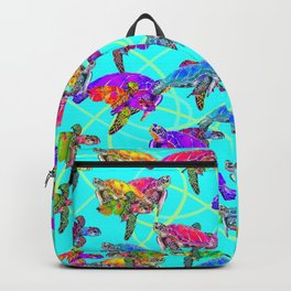 SEA THE TURTLES! Backpack