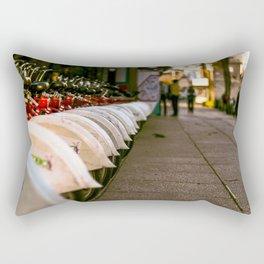 City on Wheels Rectangular Pillow