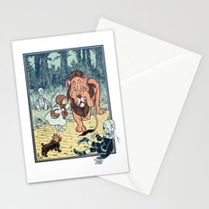 Wizard of Oz Stationery Cards