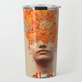 Bird Flight in Autumn Travel Mug