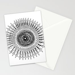 Messy Mandala No. 2 Stationery Cards